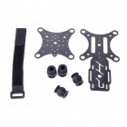 DJI Phantom 2-in-1 Vibration Damper Plate Expansion Stand Holder - Black