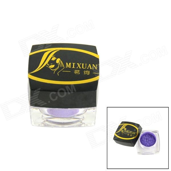 MINXUAN Mini Cosmetic Makeup Light Shine Eye Shadow Powder - Purple