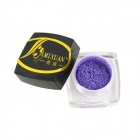 MIXUAN Mini Cosmetic Makeup Light Shine Eye Shadow Powder - Purple