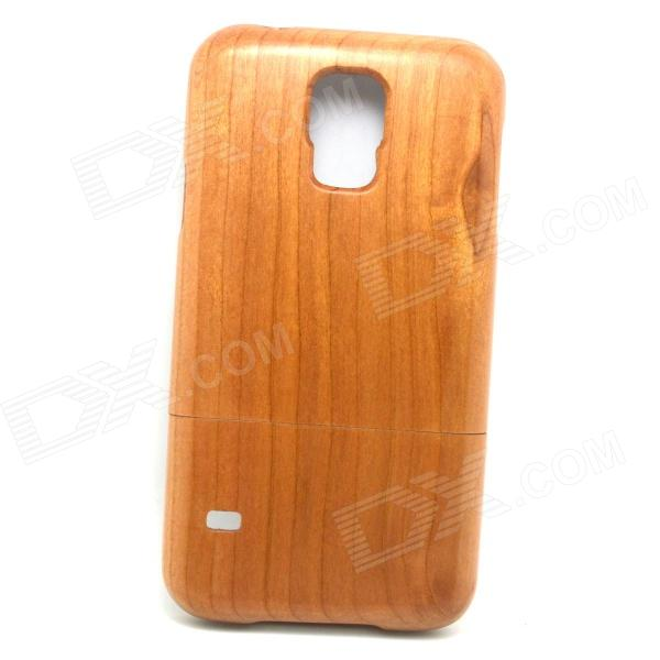 Retro Protective Cherry Wood Wooden Back Case for Samsung Galaxy S5