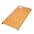 Retro Protective Cherry Wood Wooden Back Case for Xiaomi 3