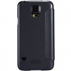 NILLKIN Protective PU Leather + PC Case for Samsung Galaxy S5 (G900) - Black