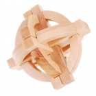 Wooden Puzzle Brain Teaser IQ Toy
