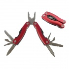 AceCamp 2572 Multi-Tool Plier / Nail File / Knife / Screw Driver / Bottle Opener / Saw / Can Opener