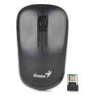Genius 6000z 3-key 1200dpi 2.4G Wireless LED Mouse w/ Receiver - Black (1 x AA)