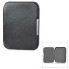 Protective Flip-open PU + Micro Fiber Case w/ Magnetic Closure for Nook 4 - Black