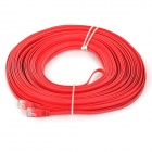UTP CAT6 Flat Network Cable Router / Switch + More - Red (30m)