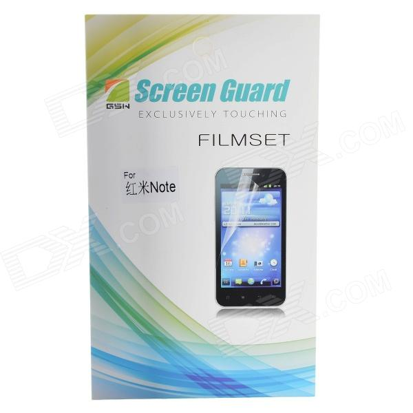 Protective Clear PVE Screen Film Guard Protectors for Xiaomi Redmi Note - Transparent (2 PCS) palombini pal oro