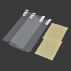 Protective Clear PVE Screen Film Guard Protectors for Xiaomi Redmi Note - Transparent (2 PCS)