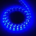 LetterFire imperméable à l'eau 4.8W 60-5050 SMD LED Bleu Light LED Strip - Transparent (AC 220V / US plugs)