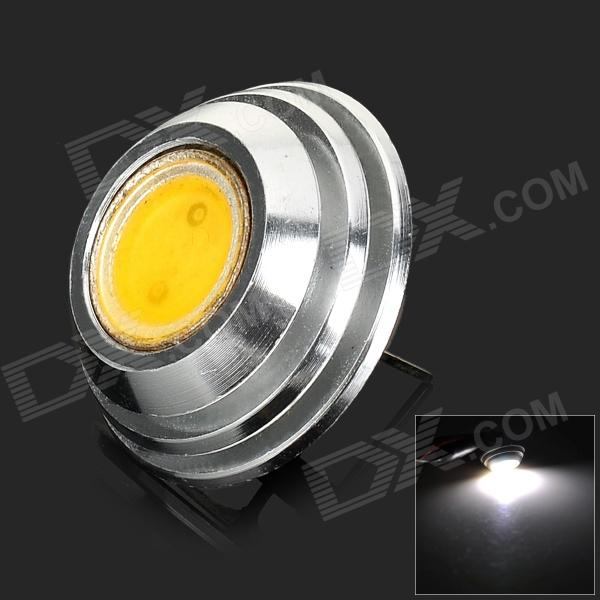 FY 25mm G4 2W 1-COB 120LM 3000K Warm White Light Lamp - Silver + Yellow (DC 12V)
