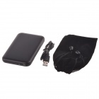 "De alta velocidade USB 2.0 Hard Disk Drive Enclosure Case for 2.5 ""SATA HDD - Preto (Max. 2TB)"