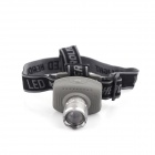 YP-3003A Outdoor Cree XP-E Q5 200lm 3-Mode White Headlamp - Grey + Army Green (3 x AAA)