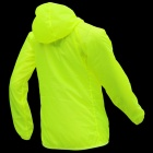 Thefree FB3403 Ultrathin Windbreaker for Women - Fluorescent Green (XL)