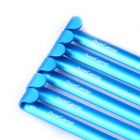 Acecamp 2713 Aluminum Alloy U Shaped Pegs for Outdoor Camping Tent 180mm - Sky Blue (6 PCS)