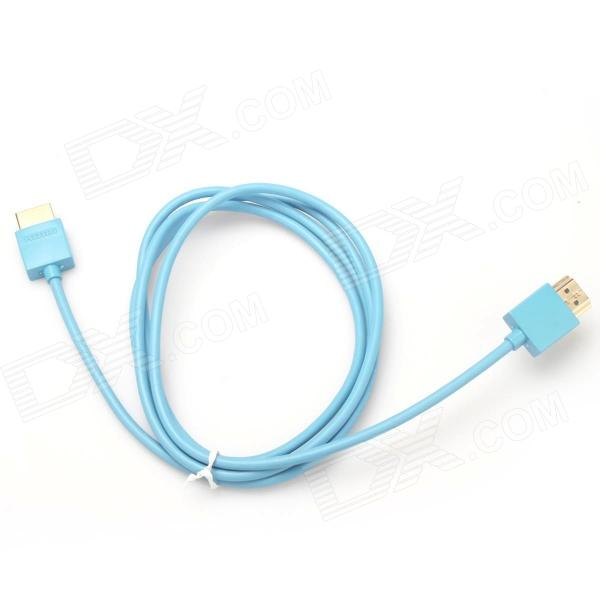 HDMI Male to HDMI Male Connection Cable - Blue (150cm) hdmi v1 4 male to male connection cable black blue golden 5m length