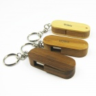 IDOMAX M027 Knife Shape Full Capacity Classics Wood + Bamboo USB 2.0 Flash Drive - Wood (8GB)