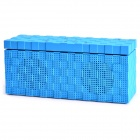 N11 Hands-Waving Recognition Bluetooth V3.0 Stereo Speaker w/ Microphone / TF Card Slot - Blue