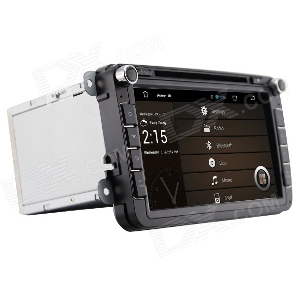 8 Android 4.2 Capacitive Screen Car DVD Player w/1024x600 IPS,GPS,RDS,WiFi,Radio,AUX,BT for VW SEAT joyous 1 6g dual core android 4 2 capacitive screen car dvd w radio gps rds bt wifi 3g