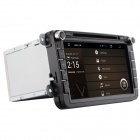 "8"" Android 4.2 Capacitive Screen Car DVD Player w/1024x600 IPS,GPS,RDS,WiFi,Radio,AUX,BT for VW SEAT"