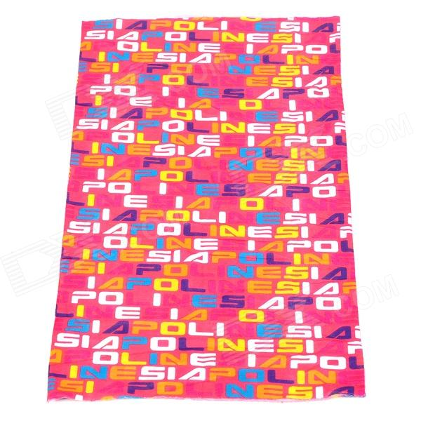 Acacia Outdoor Sports Polyester Seamless Head Scarf for Women - Multicolored