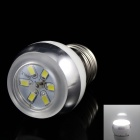 KINFIRE E27 3W 220lm 6500K 6 x SMD 5730 LED White Light Lamp Bulb - (AC 85~265V)