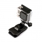 PANNOVO Fast Release Plate Clamp Flexible Mount w/ J Buckle for Gopro Hero 4/ 3+/3/2/1/SJ4000 - Black