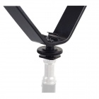 V-type Flash Camera Microphone Stand - Black