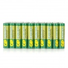 GP 24G 1.5V Carbon AAA Batteries - Green + Multicolored (40 PCS)