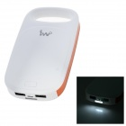 "IWO Universal Dual USB 3.7V ""10000mAh"" Li-ion Battery Power Bank w/ Flashlight for IPHONE / IPAD"