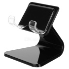 YouCan Convenient Universal Desktop ABS + Nano Rubber Holder for IPHONE / Cellphone - Black