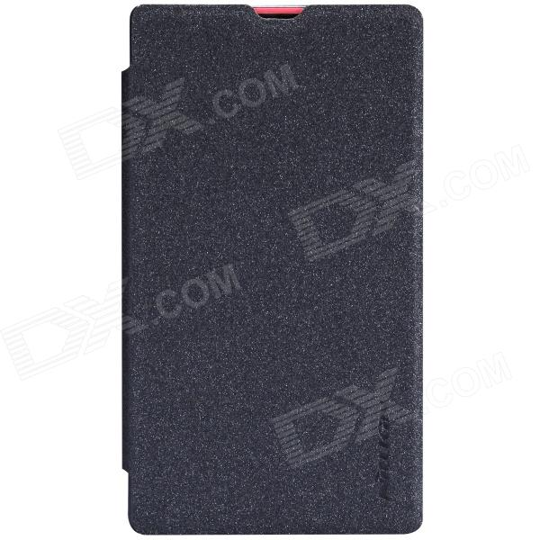 NILLKIN Protective PU Leather + PC Case Cover for Nokia X - Black nokia x 1 в одессе