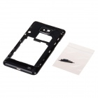 Repair Part Replacement Medium Plate + Volume Button + Mute Button for Samsung Galaxy S2 - Black