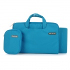 "Cartinoe Laptop Inner Bag + Coin Purse + Mousepad for Apple MacBook Air / Pro 11.6"" Tote Bag - Blue"