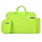 "Cartinoe Laptop Inner Bag + Coin Purse + Mousepad for Apple MacBook Air / Pro 13.3"" Tote Bag - Green"