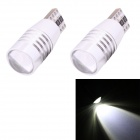MZ T10 5W 425lm Cree XP-E LED White Light Car Backup / Clearance Lamp (2 PCS / 12V)