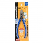 WLXY XY-726 Chrome Vanadium Steel Alloy Wire Side Cutter Diagonal Cutting Pliers - Deep Blue