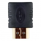 ZSCH High Quality Professional 90 Degree Right Angle HDMI Male to Female Adapter - Black (10 PCS)