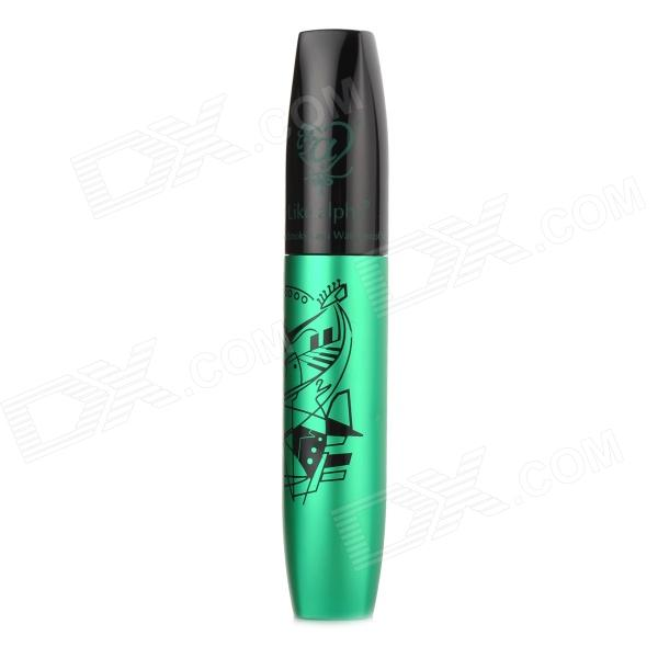 JIAOCAN Smoky Lash Waterproof Mascara - Black + Jade Green (10ML)