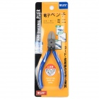 "WLXY XY-725 5"" Chrome Vanadium Steel Alloy Wire Side Cutter Diagonal Cutting Pliers - Deep Blue"