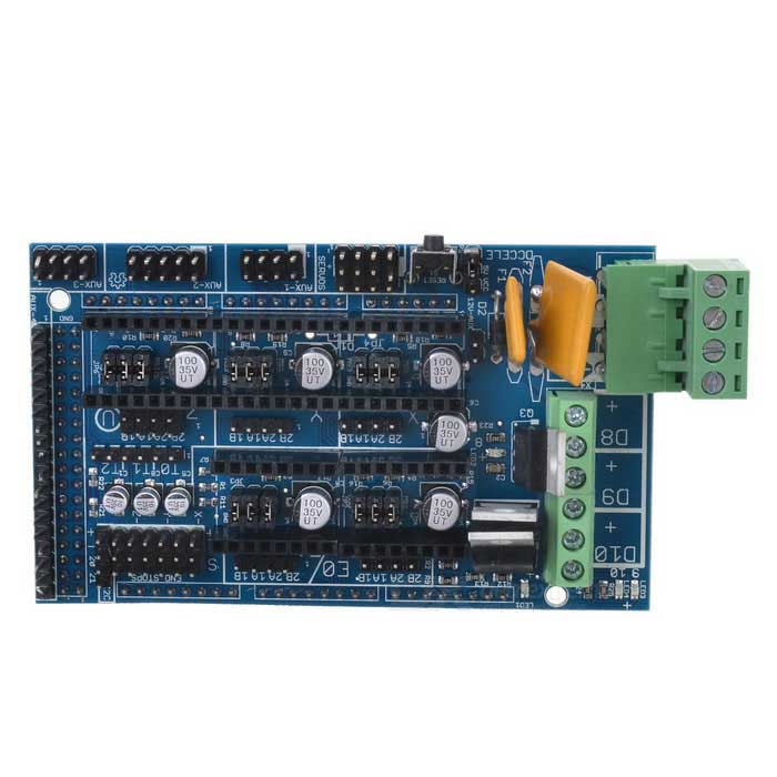 RAMPS 1.4 Printer Control Module voor RepRap 3D-printer Deep Blue