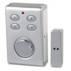 SINOPINE SP65 Solar Wireless Door / Window Alarm - Silver (3 x AAA)