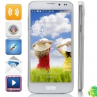 "S5000 MTK6582 Quad-Core Android 4.2.2 WCDMA Bar Phone w/ 5.0"" OGS QHD, Wi-Fi and GPS - White"