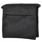 Dual Handle Dual Zipper 1680D Nylon Sandbag for Lamp Bracket - Black