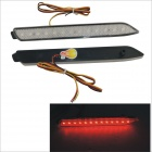 YCL-371B 2W 150lm 13-SMD 5050 LED Car Rear Bar Red Lights for Reiz Camry (12V)