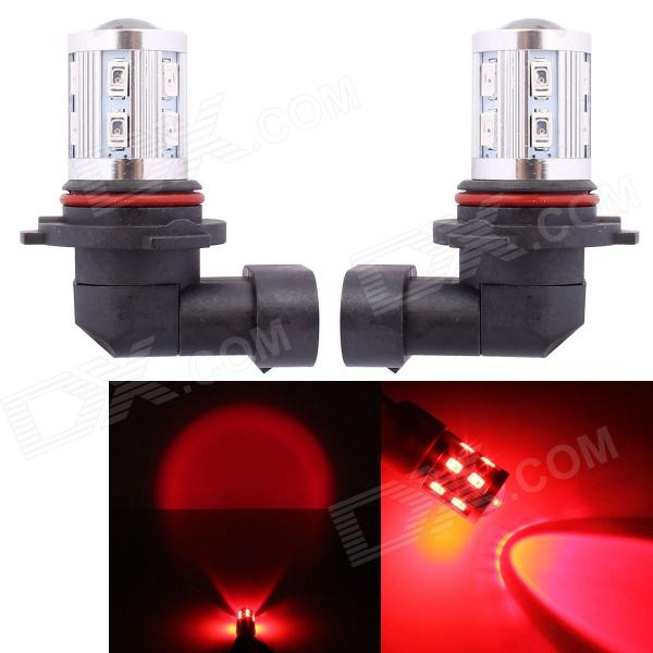 MZ 9005 11W 12-SMD 5630 + 1-LED Red Light Car Brake / Tail / Signal / Indicator Lamp (12V)