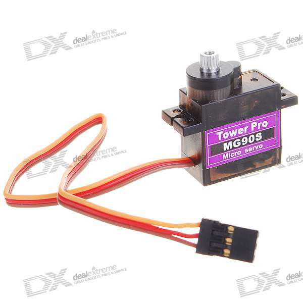 Tower Pro MG90S Metal Gear Servos with Parts