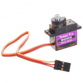 Tower Pro MG90S Metal Gear Servos with Parts - Black