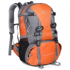 LKLR 429 Outdoor Mountaineering Nylon Backpack - Orange + Grey (40L)