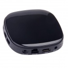 AT-758 Android 4.2.2 Quad-Core Smart TV Box w/ 4GB ROM / TF / Wi-Fi / HDMI / RJ45 / USB - Black